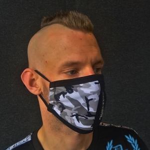 100% Hardcore Facemask 'Camou 2 Tone'