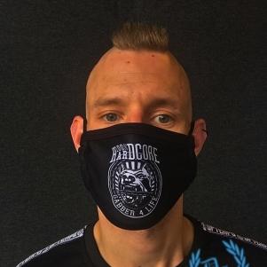 100% Hardcore Mondmasker 'Gabber 4 Life'