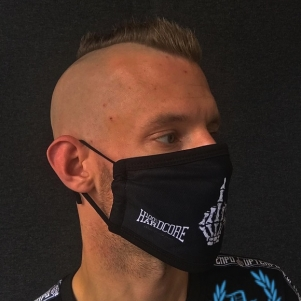 100% Hardcore Facemask 'F#CK YOU I'm Hardcore'