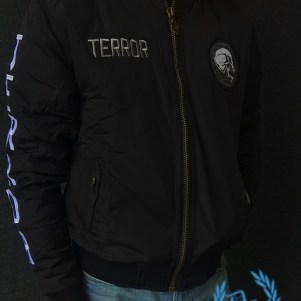 Terror Bomber Jacket 'Worldwide MF'