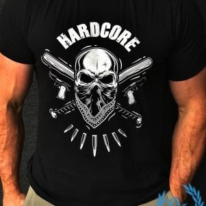 Hardcore T-shirt 'Hardcore Bandit'