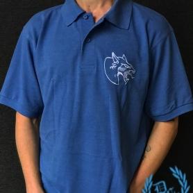 Neophyte Records Polo 'Neophyte Blue'