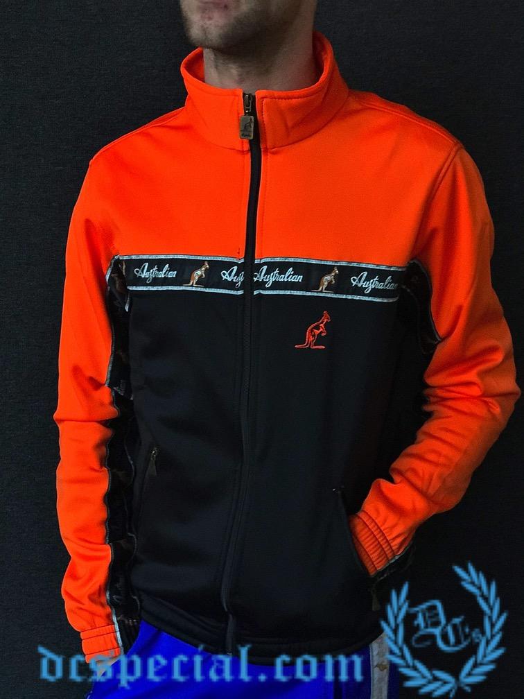 Australian Training Jacket 'Bright Orange''