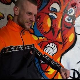 Australian Trainingsjas 'Bright Orange''