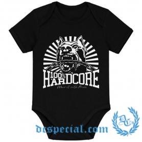 100% Hardcore Baby Romper 'Classic'