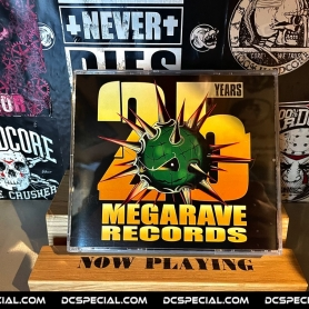 Megarave 2020 CD '25 Years Of Megarave Records - The Lost Vinyls Edition'