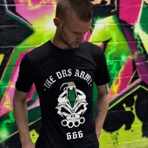 DRS T-shirt 'DRS Army Green'