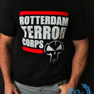 Rotterdam Terror Corps T-shirt 'Only One Shot Will Kill'