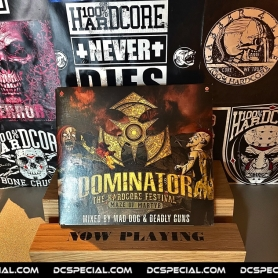 Dominator 2017 CD 'Maze Of Martyr - Mixed by Mad Dog & Deadly Guns'