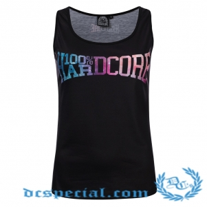 100% Hardcore Woman Top 'Dream Black'