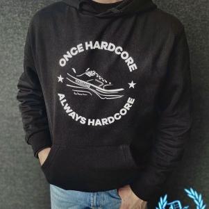 Hardcore Hooded Sweater 'Once Hardcore - Always Hardcore'