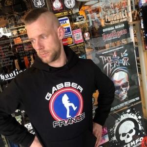 France Hooded Sweater 'Gabber France'