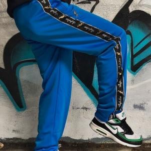Australian Trainingsbroek 'Capri Blue/Black Double Zipped'