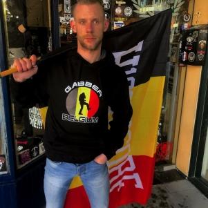 Hardcore Hooded Sweater 'Gabber Belgium'