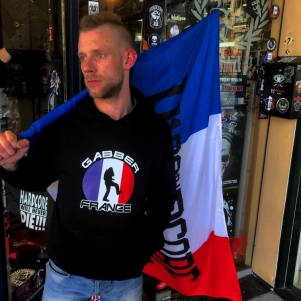 Hardcore Hooded Sweater 'Gabber France'