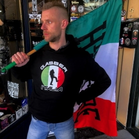 Hardcore Hooded Sweater 'Gabber Italia'