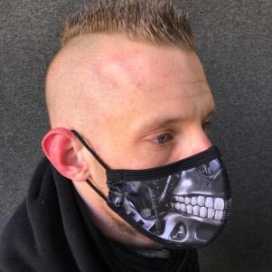 Extreme Hobby Mondmasker 'Skull Machine'