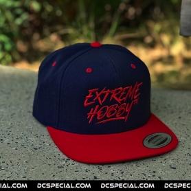 Extreme Hobby Snapback 'Graffiti Red/Navy Blue'