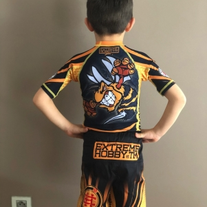 Extreme Hobby Kids MMA Short 'Angry Wasp'