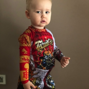 Extreme Hobby Kids Rashguard Longsleeve 'Killer Cards 2'