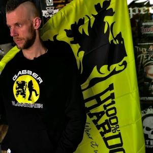 Hardcore Vlaanderen Hooded Sweater 'Gabber Vlaanderen'