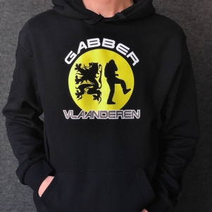 Hardcore Vlaanderen Hooded Sweater 'Gabber Vlaanderen'