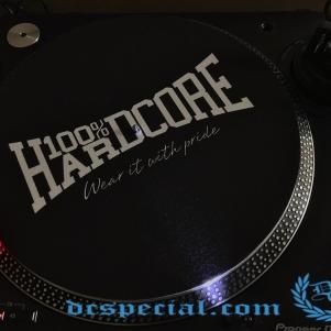 100% Hardcore Slipmat 'Wear It With Pride'