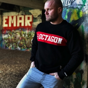 Octagon Sweater 'Middle Black'