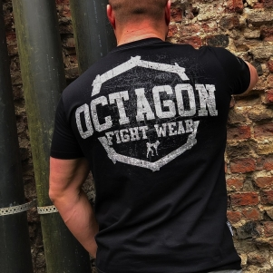 Octagon T-shirt 'Fight Wear Black'