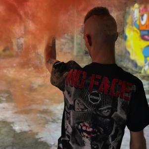 Octagon T-shirt 'No Face No Name'