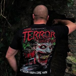 Octagon T-shirt 'Make Terror Have Fun'