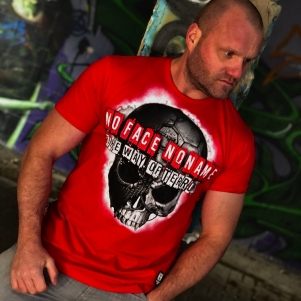 Octagon T-shirt 'The Way Of Terror Red'
