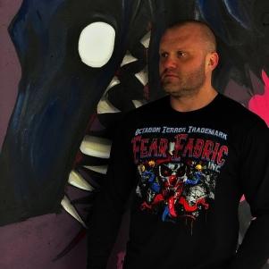 Octagon Longsleeve T-shirt 'Fear Fabric'