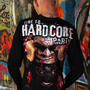 Octagon Longsleeve T-shirt 'Time To Hardcore Party'