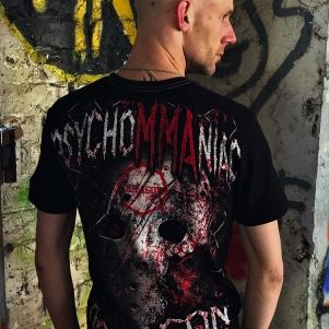Octagon T-shirt 'PsychoMMAniac'