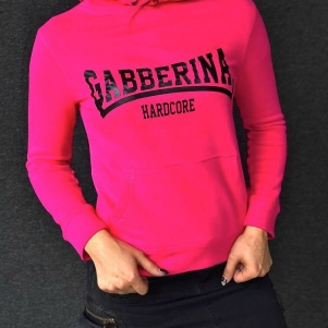 Hakken Hardcore Dames Hooded Sweater 'Gabberina Hardcore'