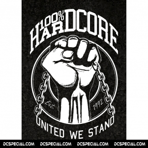 100% Hardcore Poster 'United We Stand'