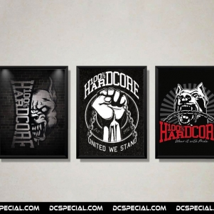 100% Hardcore Poster Pack '3 Posters'