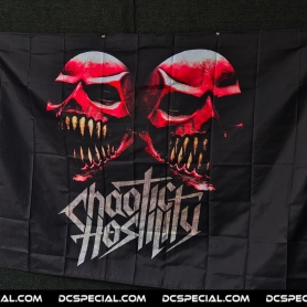 Chaotic Hostility Vlag 'Chaotic Hostility 3D'