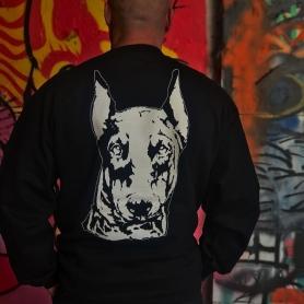 Doberman Sweater 'Head White'