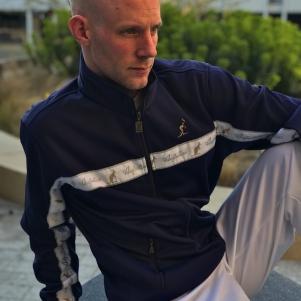 Australian Trainingsjas 'Blue Cosmo'