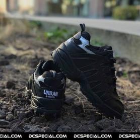 Urban Sneakers 'Steel Toe Sport Shoe Black'