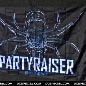 Partyraiser Vlag 'Black'