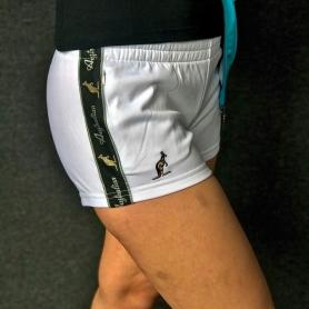 Australian Dames Hotpants 'White / Black'