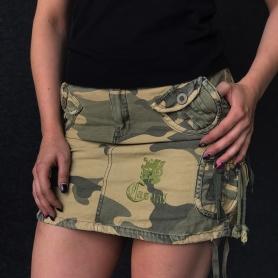 Casual Skirt 'Casual Lion Camo'