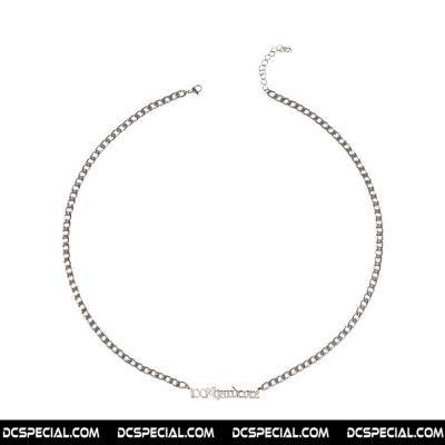 100% Hardcore Silver Necklace '100%Hardcore'