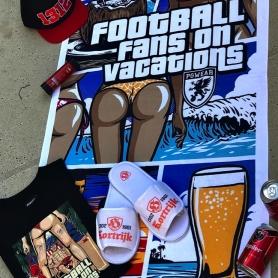 PGwear T-shirt 'Football Fans On Vacation'