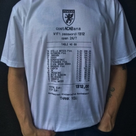 PGwear T-shirt 'costACABana'