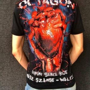 Octagon T-shirt 'Bleeding Heart'