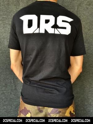 DRS T-shirt 'Half Logo'
